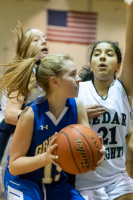 Gallery: Girls Basketball Cedar Heights MS (Cov) @ Summit Trail MS